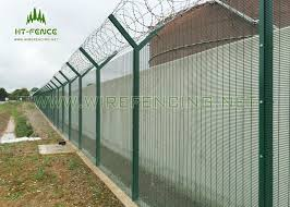 Anti Uv 358 Security Fence Green Security Fencing With High Tensile Strength