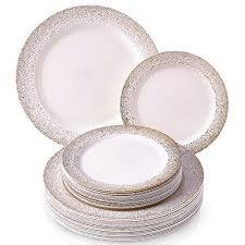 cake plates ivory gold 50 wedding