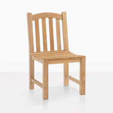 bowback outdoor dining side chair