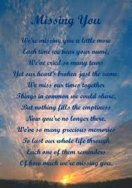 lovely i miss you quotes for a lost loved one love quotes
