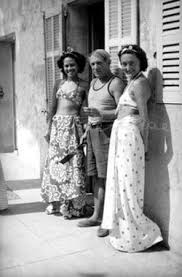 Pablo Picasso — Photos - Ady Fidelin, Picasso and Nusch Eluard, 1937 year
