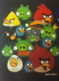 ANGRY BIRDS GANGS ALL HERE BLACK - R - All That Jazz Online