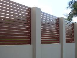 Privacy Screen Slat Panel Fence Aluminium Slat Fencing Gates