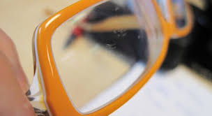 fix scratches on your glasses lenses