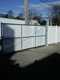 Chain Link Fences Gates Installation Liberty Fence Railing