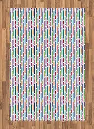 com lunarable modern area rug