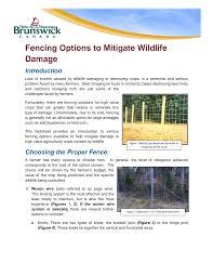 Https Www2 Gnb Ca Content Dam Gnb Departments 10 Pdf Publications Agr Fencingoptionsmitigatewildlifedamage Pdf