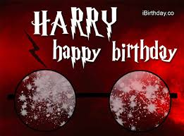 harry potter bday wishes
