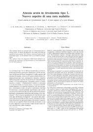PDF) [Acute ataxia in tyrosinemia type l. A new aspect of a rare ...