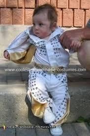 coolest homemade baby elvis costume