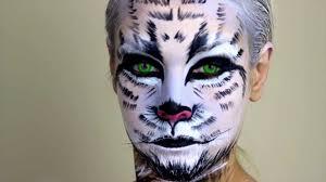 white tiger snow tiger makeup you