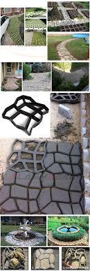Iflashdeal Plastic Path Mold Maker Diy Pathmate Paving Cement Road Brick Molds Walk Way Paver Concrete Stone Auxiliary Tools Lazada Ph