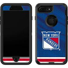 Amazon Com Skinit Decal Skin Compatible With Otterbox Defender Iphone 7 Plus Officially Licensed Nhl New York Rangers Home Jersey Design Industrial Scientific