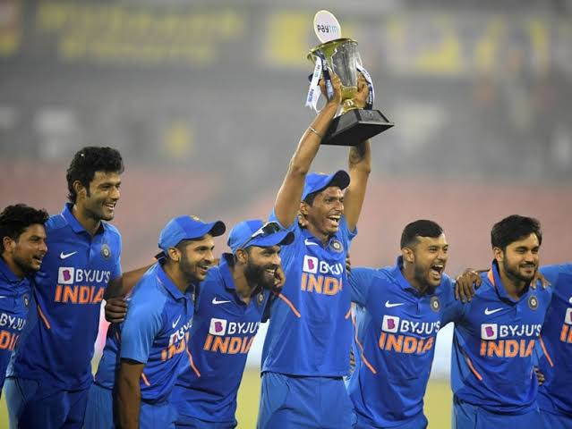 Image result for India vs West Indies 2019  ODi series win""