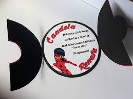Invitaciones Tarjetitas Cumpleanos De Ladybug Ladybug