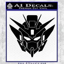 Gundam Wing Anime Zero Head Decal Sticker A1 Decals