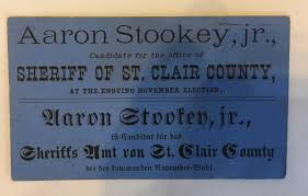 Sheriff's election ad cards - Our Sheriffs