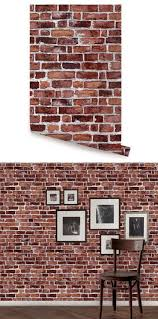 Brick Red Peel And Stick Wallpaper Red Brick Wallpaper Brick Wallpaper Brick Wall