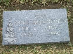 Annie Leola Smith Dement (1875-1960) - Find A Grave Memorial
