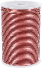 craft county 2mm round leather cord