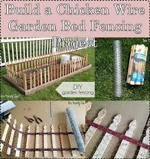 Build A Chicken Wire Garden Bed Fencing Project The Homestead Survival