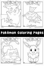 Pokemon Coloring Pages Verjaardagsfeestjes Verjaardagsideeen En