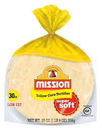 mission yellow corn tortillas 30 count