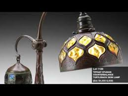 lamps glass fine jewelry auction