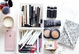 declutter your makeup collection