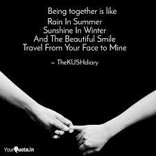 rain in summer sunshine i quotes writings by ankush kamboj