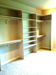 build a shelf in a closet diy closet