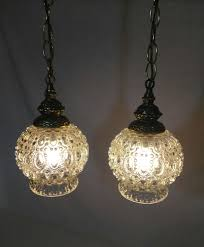 globe pendant light swag lamp