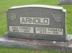 Ada Turner Arnold (1870-1952) - Find A Grave Memorial