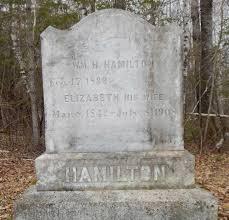 Elizabeth Langley Hamilton (1842-1908) - Find A Grave Memorial