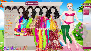 indian wedding dress up games play