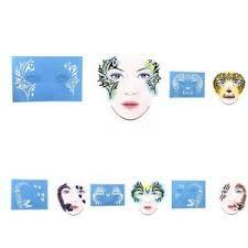 5pc reusable face paint airbrush