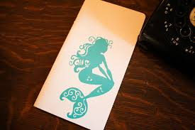 Mermaid Bullet Journal Decal The Leather Quill Shoppe