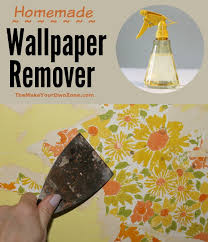 water homemade wallpaper remover
