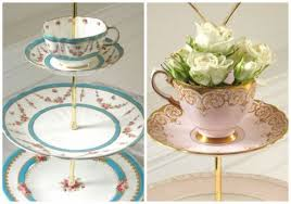 Recycled cake stands by Polly Kelly   Party planning, Sister wedding, Maid  of honor