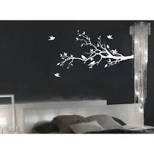 Tree Branches Wall Decal Love Birds Vinyl Sticker Nursery Leaves 56 Wide X 28 High Right To Left 1226 Walmart Com Walmart Com