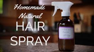 how to make homemade hairspray simple