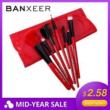 banxeer makeup brushes set 7pcs lot