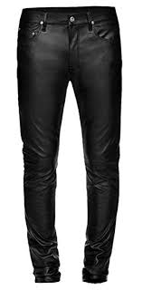 leather pants jeans ping for
