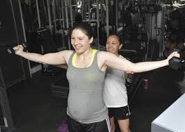 workout program helps expectant mothers