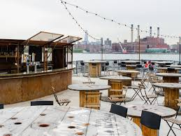 best outdoor bars brooklyn rooftops