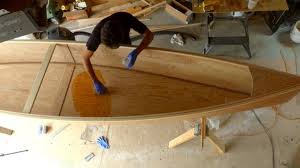 diy making a canoe from plywood quick