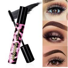 pink leopard eyelash long lasting thick