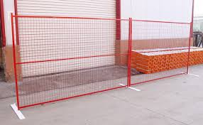 Yellow Color Powder Coated 6foot X 9 5foot Weld Mesh Construction Fence Panels For Sale Temporary Construction Fence Manufacturer From China 107590514