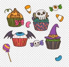 كعكة هالوين كعكة عيد ميلاد كب كيك هالوين رعب كعكة مضحك الغذاء
