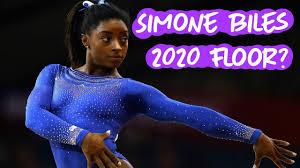 Simone Biles 2020 Floor? - YouTube